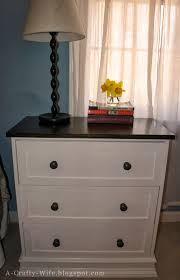 Ikea Rast Nightstand A Crafty Wife Ikea Rast Hack Part 2 The Finishing Touches