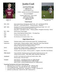 sports resume for college exles soccer player resume 76 images soccer coaching resume