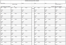 Excel Seating Chart Template 6 Best Images Of Seating Chart Printable