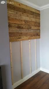 Wedding Guest Board From Pallet Wood Pallet Ideas 1001 by Create A Wall Made From Wooden Pallets Very Effective House