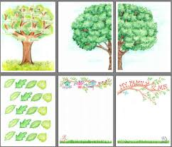 printable family tree scrapbooking from scrapbookscrapbook com