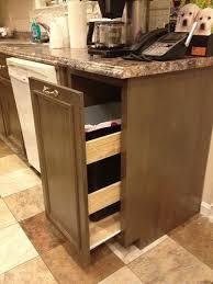 Kitchen Cupboard Garbage Bins best 25 rustic kitchen trash cans ideas on pinterest trash can