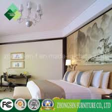 chinese style antique hotel bedroom furniture made of birch zstf