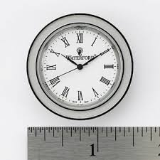 Small Clock For Desk Crystal Clocks U0026 Timepieces Waterford Official Us Site