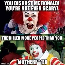 Creepy Clown Meme - who is the real creepy clown 9gag