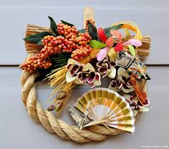 Decoration For New Year In Japan by Shimekazari