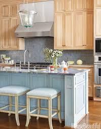 kitchen backsplash posisite backsplashes in kitchens awesome silver stainless range hood with arch faucet and blue tile kitchen backsplashes plus blue barstool