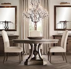 ST JAMES ROUND DINING TABLE   Reimagining - Restoration hardware dining room tables