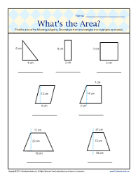 6th grade geometry worksheets what s the area 6th grade geometry worksheets