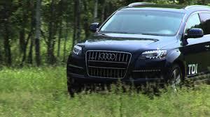 Audi Q7 Diesel - 2011 audi q7 tdi drive time review youtube