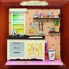 dolls house kitchen furniture 13624 hongda dollhouse miniature kitchen furniture album wooden doll