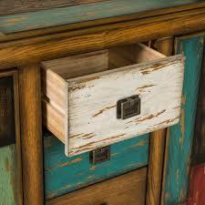 delaney antique multicolor distressed wood storage cabinet great