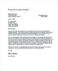 nursing cover letter example registered nurse resume sample