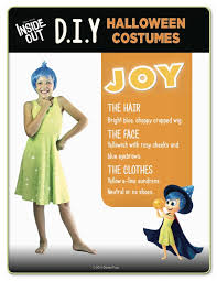 Inside Out Costumes Diy Disney Inside Out Halloween Costume U0026 Party Ideas Mommy Mafia