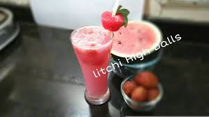 lychee juice how to make litchi high balls recipe mocktail fresh juice drinks