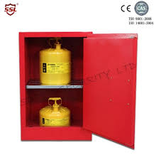 Yellow Metal Storage Cabinet Small Metal Chemical Storage Cabinet