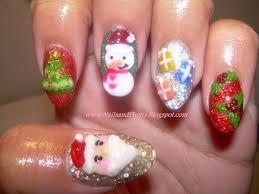 christmas nail art designs nail art