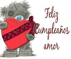 imagenes de feliz cumpleaños amor animadas feliz cumpleaños osito corazón gifs animados