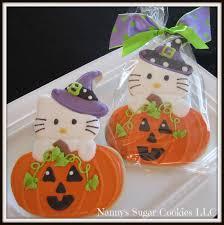 Halloween Pumpkin Sugar Cookies by Nanny U0027s Sugar Cookies Llc A Few Halloween Cookie Designs