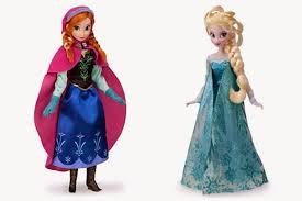 20 gambar koleksi boneka elsa anna frozen gratis anak