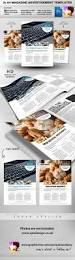 2 feature image a4 magazine ad layout by quickandeasy graphicriver