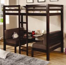 Loft Bed With Desk For Teenagers Bunk Beds Children U0027s Bed With Desk Underneath Loft Beds For