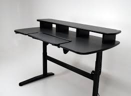 Ergonomic Standing Desk Height Ergo Cascade Height Adjustable Desk With Keyboard Section Martin