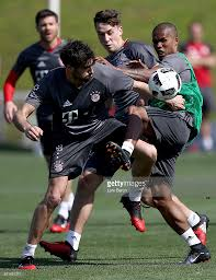 bayern muenchen doha training camp day 4 photos and images