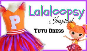 Lalaloopsy Halloween Costumes Lalaloopsy Inspired Costume Tutu Diy