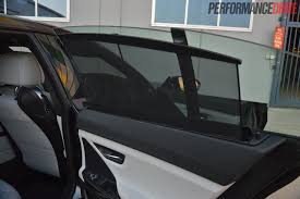 2013 bmw m6 gran coupe rear window blinds