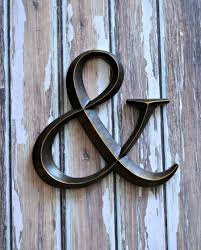 large ampersand wedding decoration photo prop photo booth home