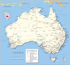 Map Of United States East Coast by Detailed Map Of Australia Nations Online Project
