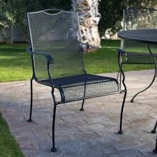 Wrought Iron Lounge Chair Patio What Iron Chair Furniture Is Design Glider Steel