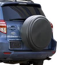 toyota rav4 spare tire rigid tire cover by boomerang fits toyota rav4