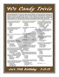 printable thanksgiving trivia questions and answers 1940s candy trivia printable gamepersonalize for birthdays