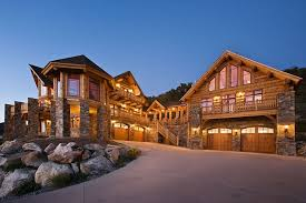 log home design ultimate log home 9436 5 bedrooms and 4 baths the house designers
