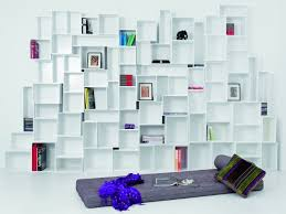 modular shelving units that grow with your collections interior
