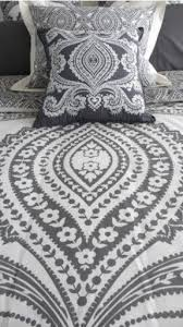 Black And White Paisley Duvet Cover Gray Paisley Bedding Foter