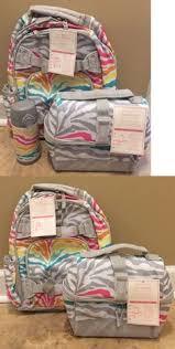 Pottery Barn Mackenzie Backpack Cold Pack Lunch Bag Mackenzie Multicolored Zebra Backpacks