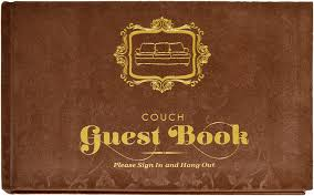 guest sign in books knock knock 50033 guest book office products
