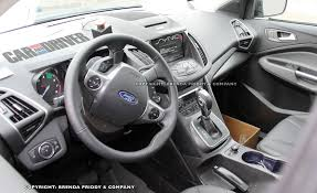 Ford Escape Used Cars - spies get clear look inside the 2013 ford escape car and driver blog