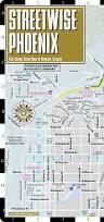 Arizona City Map by Streetwise Phoenix Map Laminated City Center Street Map Of