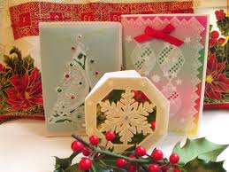 ten tips to make parchment craft christmas cards quick and easy
