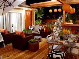 Kitchen Decor Idea Living And Dinning Room Energetic Orange Home Decor 2623 Latest