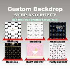 step and repeat backdrop allenjoy wedding backdrops step and repeat background