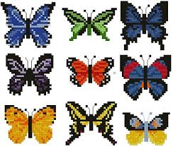 advanced embroidery designs butterfly set