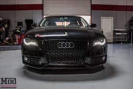 audi a4 b8 grill upgrade b8 audi a4 on werks coilovers gets rs4 grille