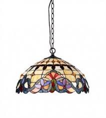 Glass Ceiling Fixture by Stained Glass Hanging Pendant Lamp Foter