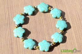 bracelet handmade jewelry images Jewelry design ideas how to make a handmade flowery turquoise jpg