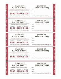 bbq tickets template raffle ticket format raffle tickets templates office